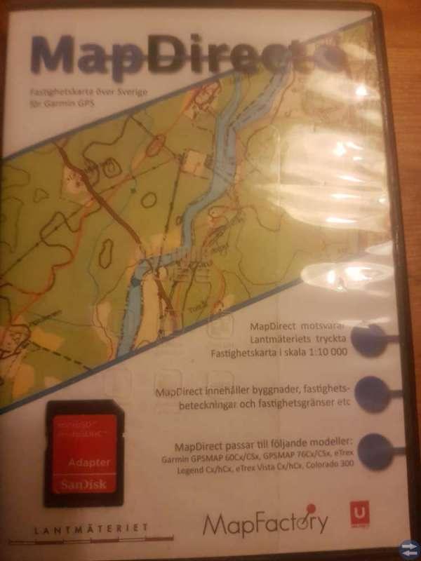 GPS Colorado 400t Inkl fastighetskarta