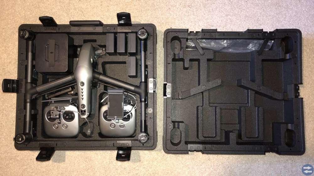 DJI INSPIRE 2, Zenmuse X5s kamera, 4 batterier