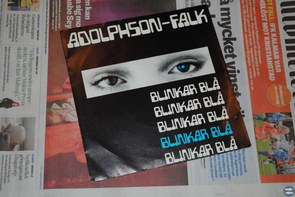 Adolphson-Falk - SIngel - Blinkar Blå