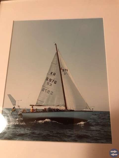 Havskryssare 34 med tillhörande båtkärra