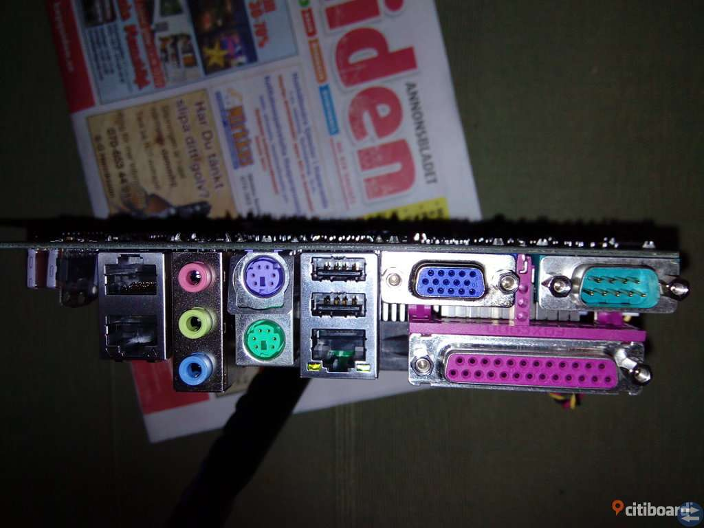 Moderkort KONTRON 886LCD-M/mITX PC /KTD+00474-E 5 st.