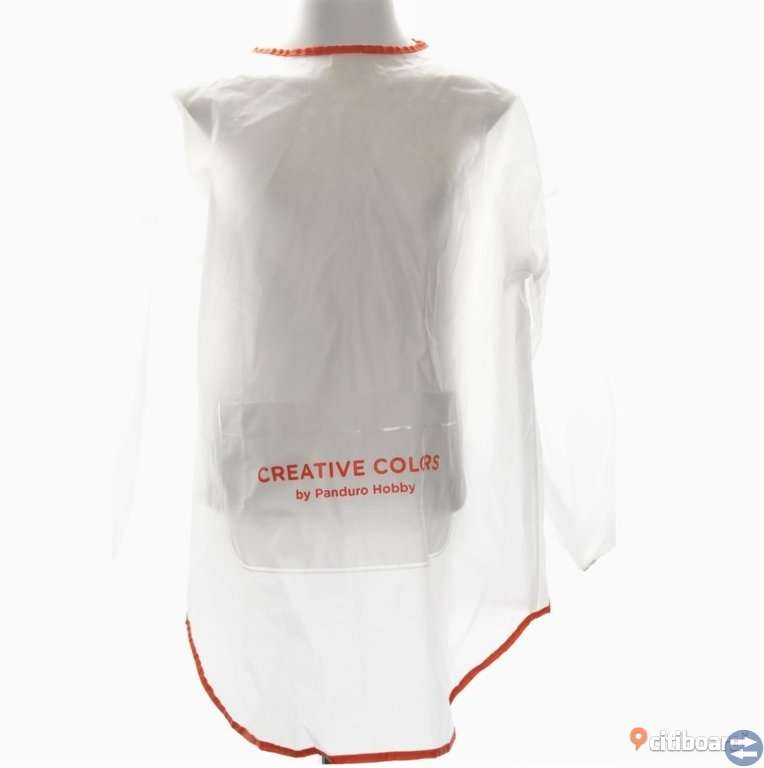Målarrock/ Målarförkläde med ärmar och ficka i mindre storlek