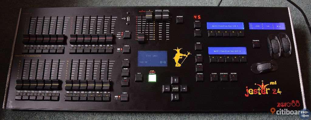 Zero88 Jester ml24 Mixerbord för lampor