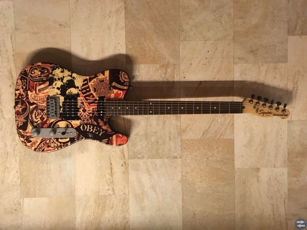 Telecaster Special obey edition Squire