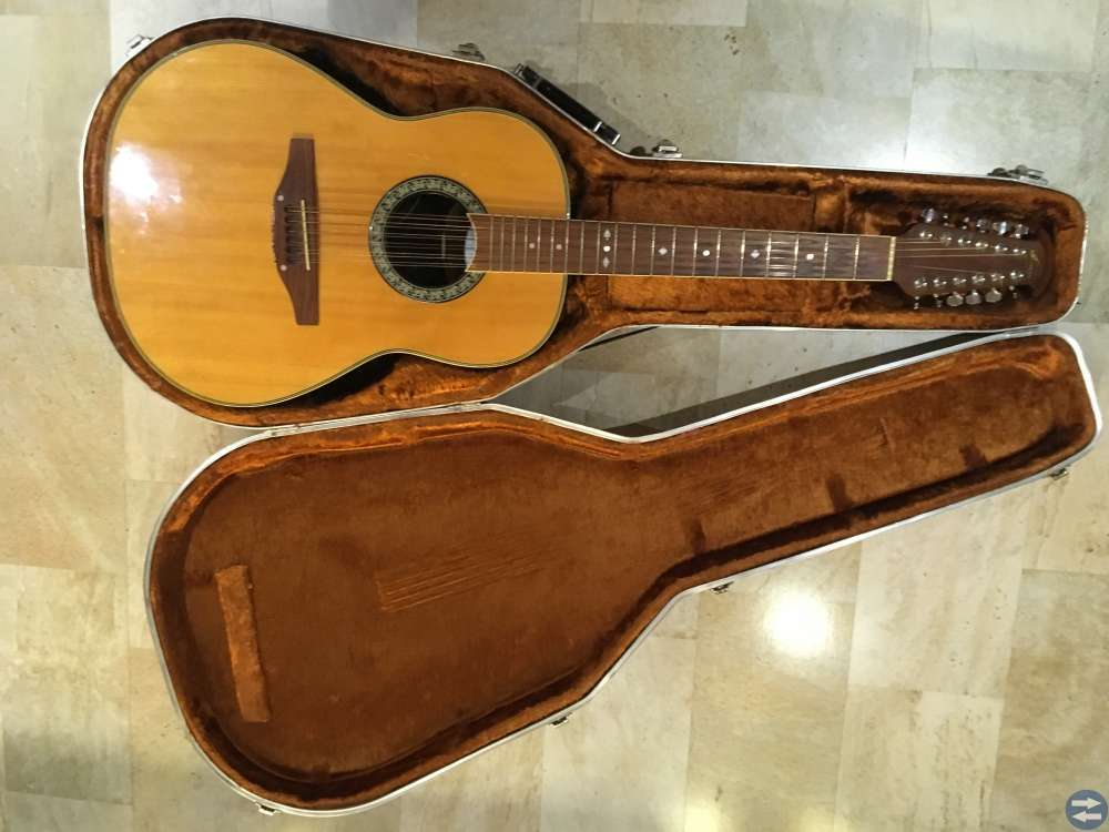 Ovation CS-165 12-string electro-acoustic guitar