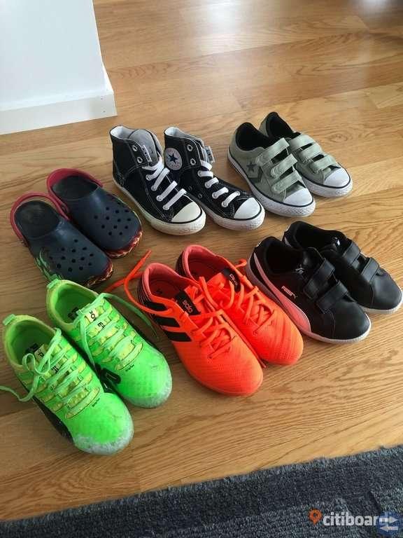 official photos 318f0 7d8be Barn skor Converse, Puma, Crocs, Adidas
