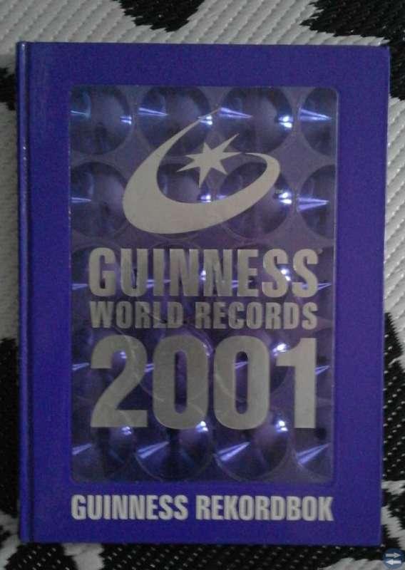 BOK - GUINESS REKORDBOK 2001!