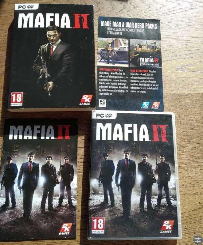 Säljes PC spelet Mafia II