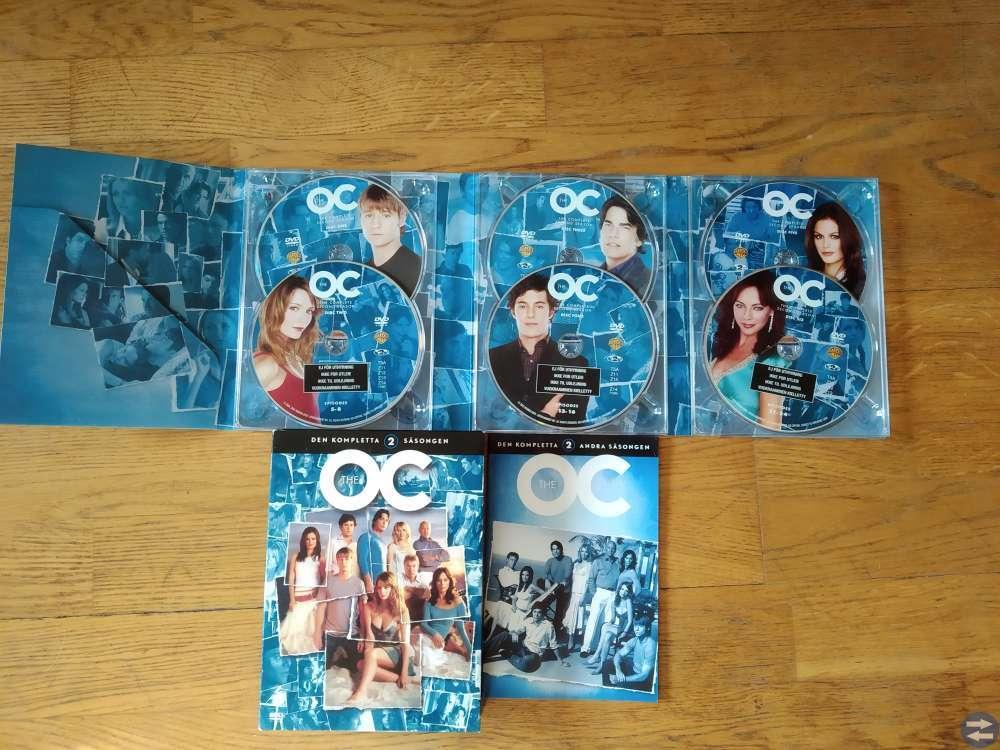 Säljes hela säsong 2 av OC på DVD