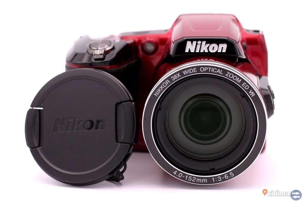 Nikon COOLPIX L840 16.0 MP Digital Camera  RÖD HELT NY FELKÖP