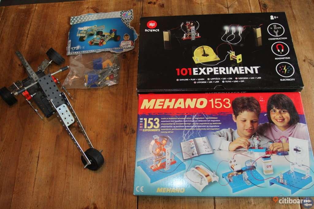 Mecano & experimentsats
