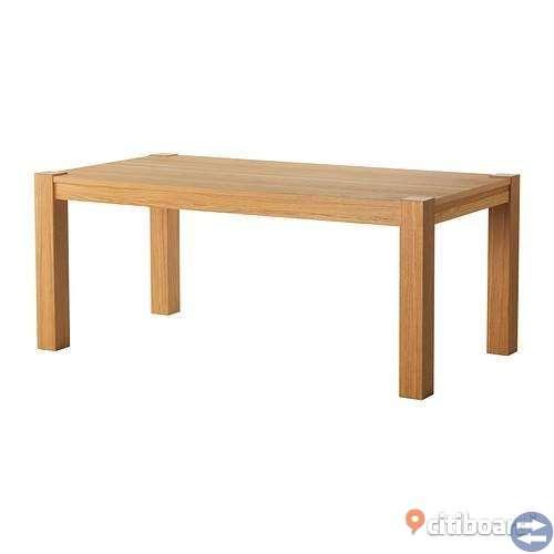 Helt nytt Köksbord i ekfanér