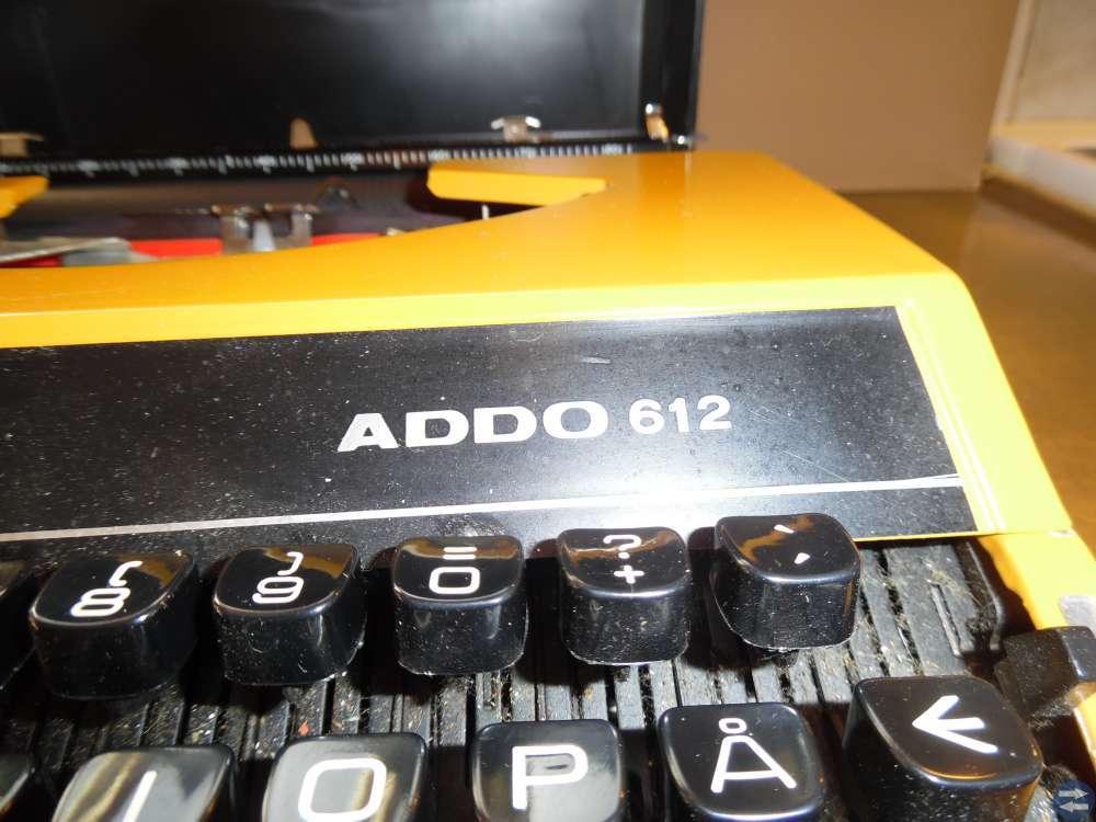 Retro skrivmaskin
