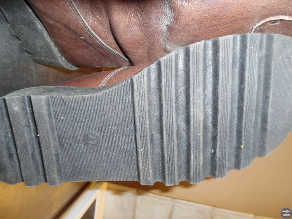 Läderstövlar