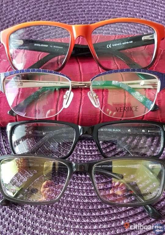 Helt nytt glasögon bågar