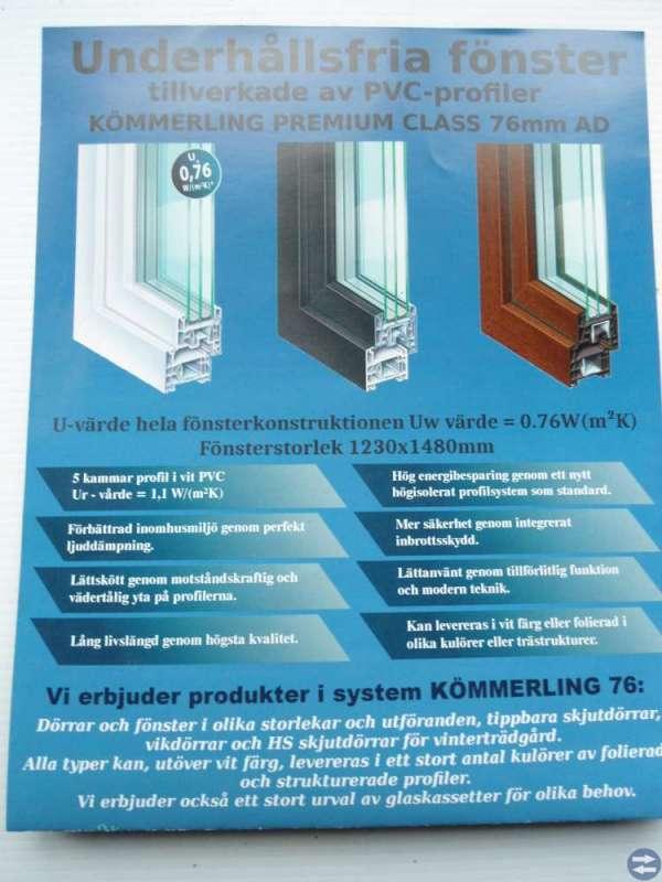 Vår kampanj 20% rabatt på fönster & dörrar