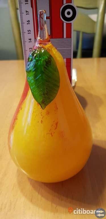 Hand blåst glass päron