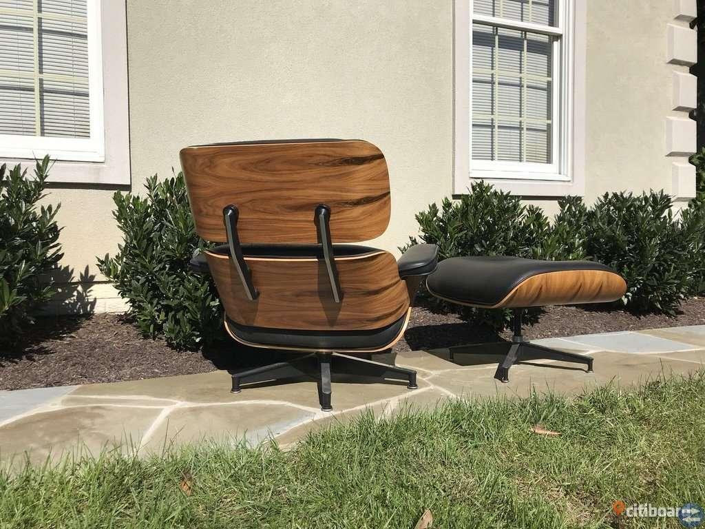 Eames Herman Miller Lounge stol & ottoman