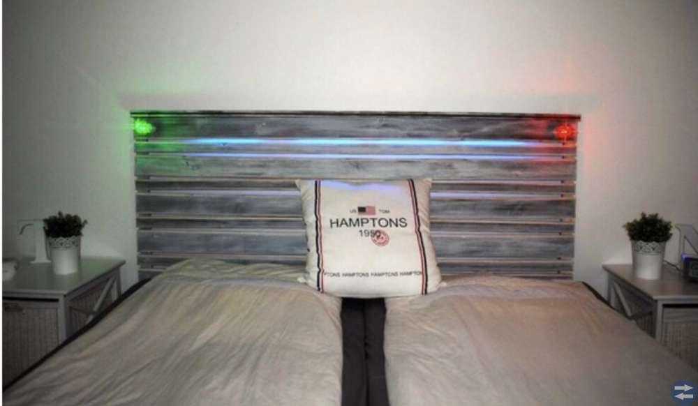 Sänggavel 180 cm