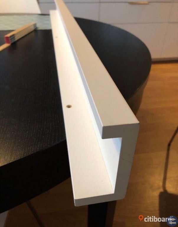 Ikea vägghylla vit ny