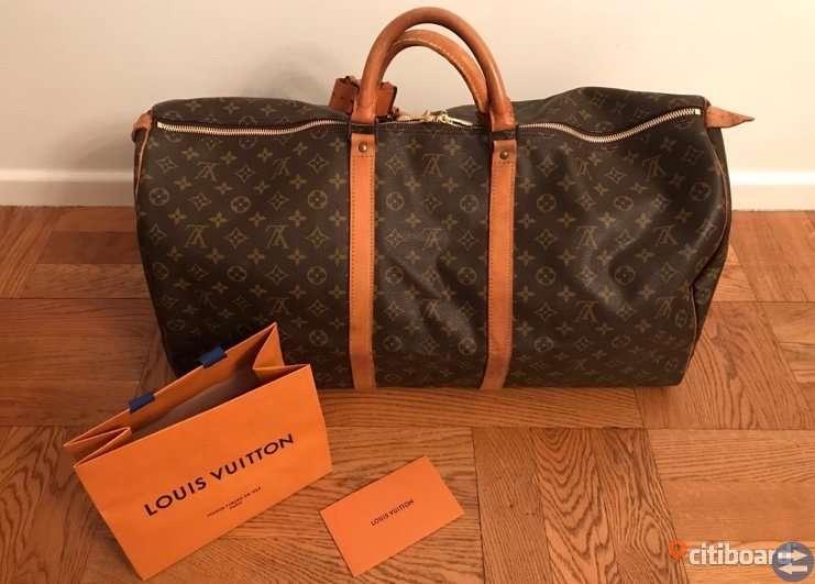 Louis Vuitton weekend bag keepall 60