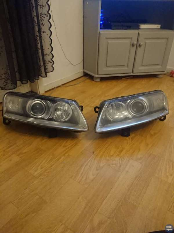Audi a6 strålkastare xenon 2007