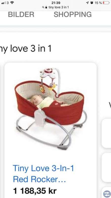Babysitter /vagga