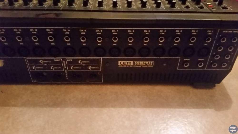 Studio Mixer bord