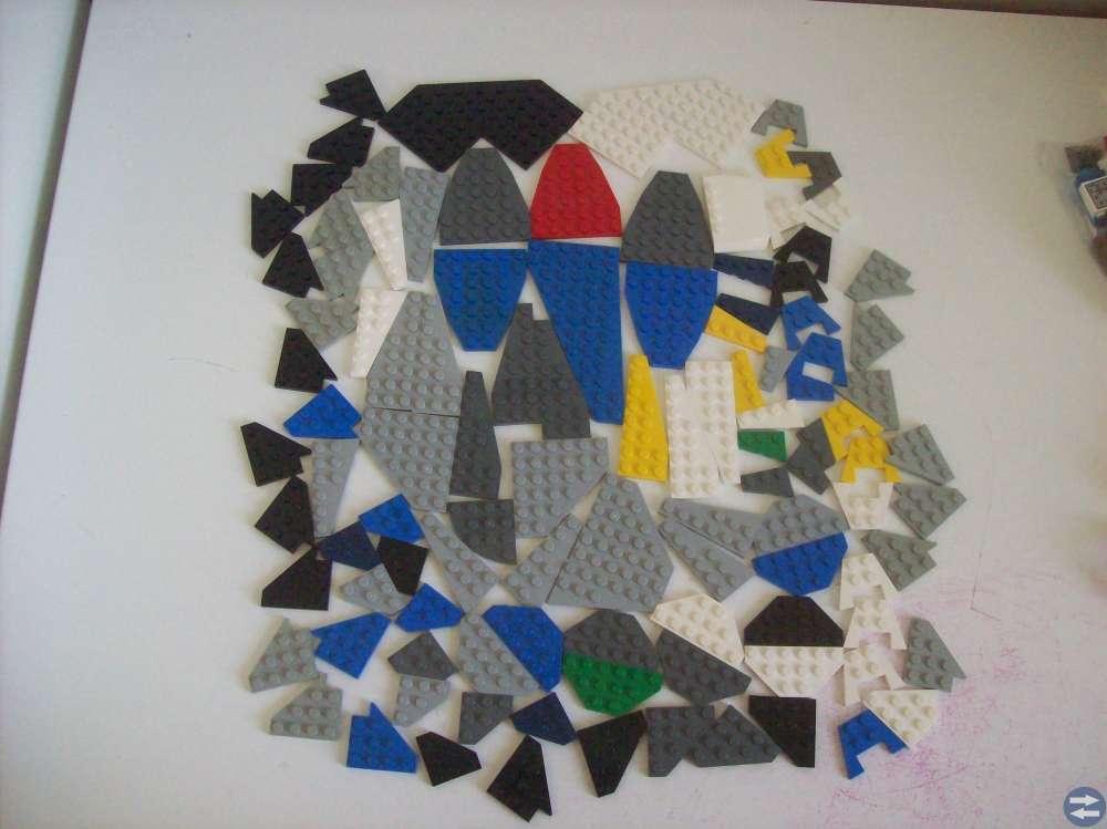 LEGO RYMDBITAR