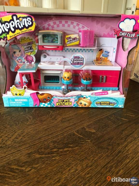 Shopkins kitchen oöppnat paket