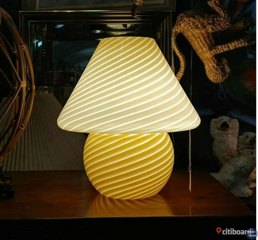 Murano MushroomLampa xxl , Very rarre