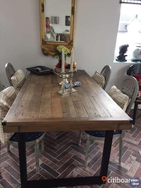 Nytt matbord återvunnet