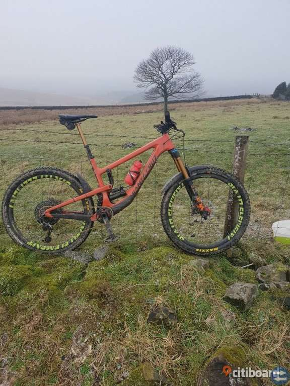 2019 SANTA CRUZ NOMAD CC - Mountainbike - orange - L