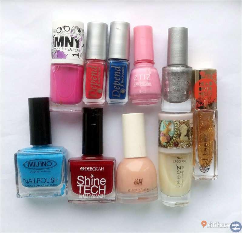 Paket nagellack 10st