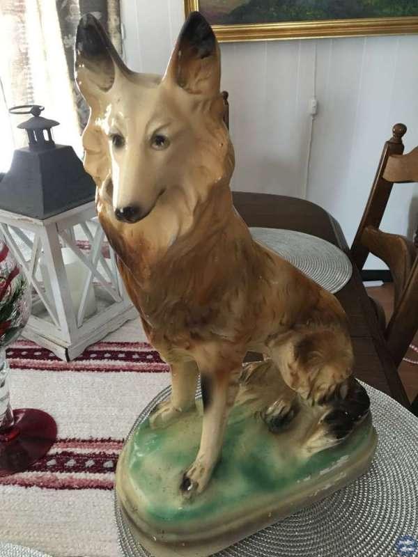 Retro Stor Hund