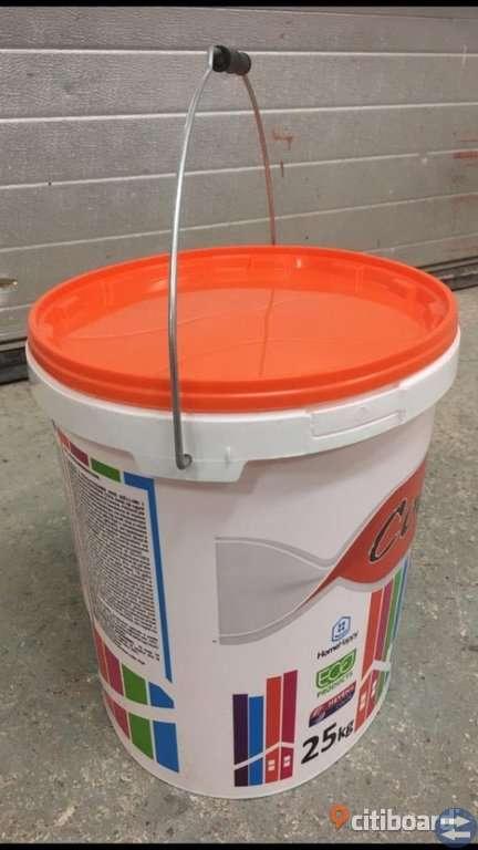 Hink med lock 25 liter