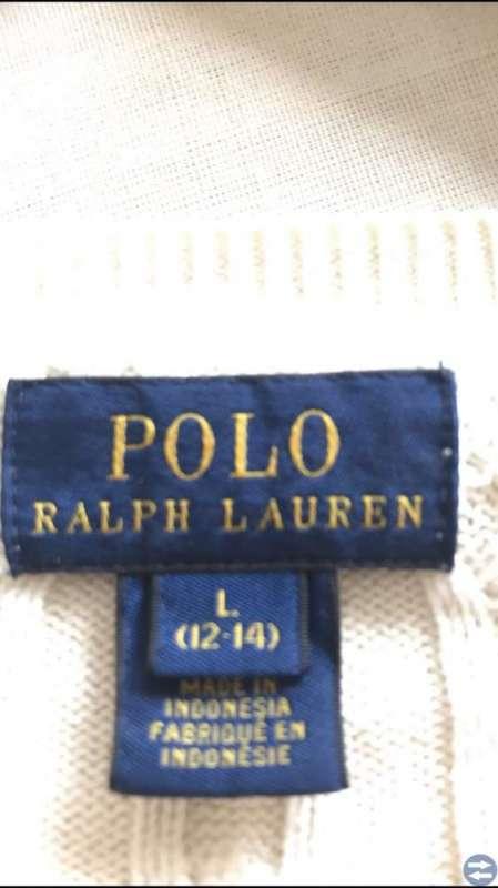Ralph Lauren-kofta, strl L 12-14