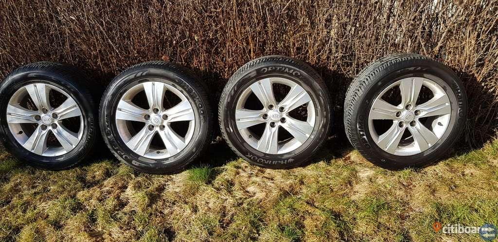 Däck och fälg  till Kia Sportage Hankook optimo