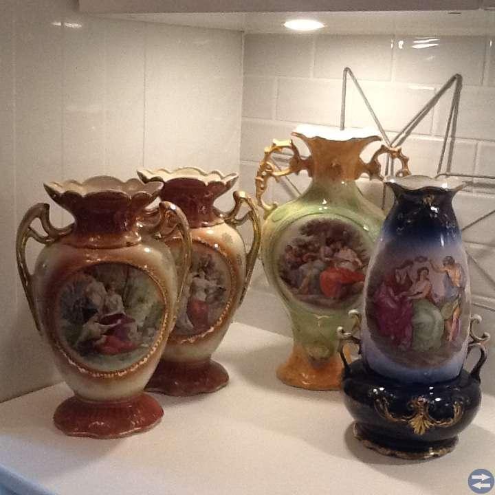 Vaser/ urnor