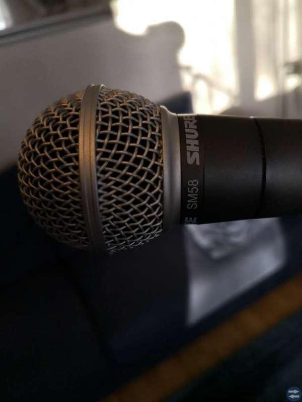 Shure SM 58 mikrofon