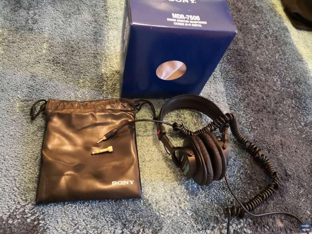 Sony MDR-7506 hörlurar