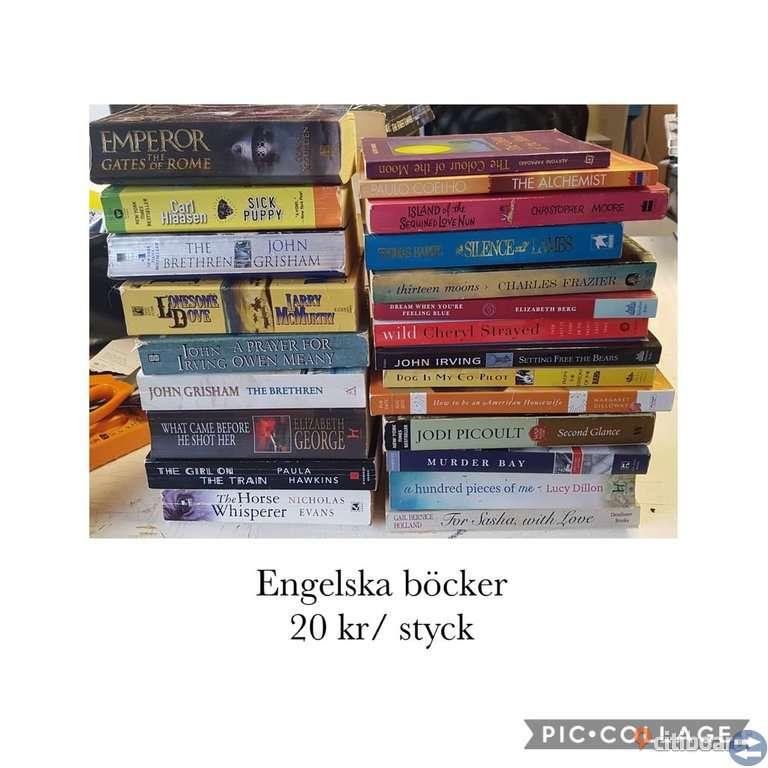 Engelska  och Svensk böcker
