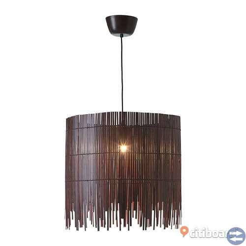 Pedant taklampa i bambu säljs