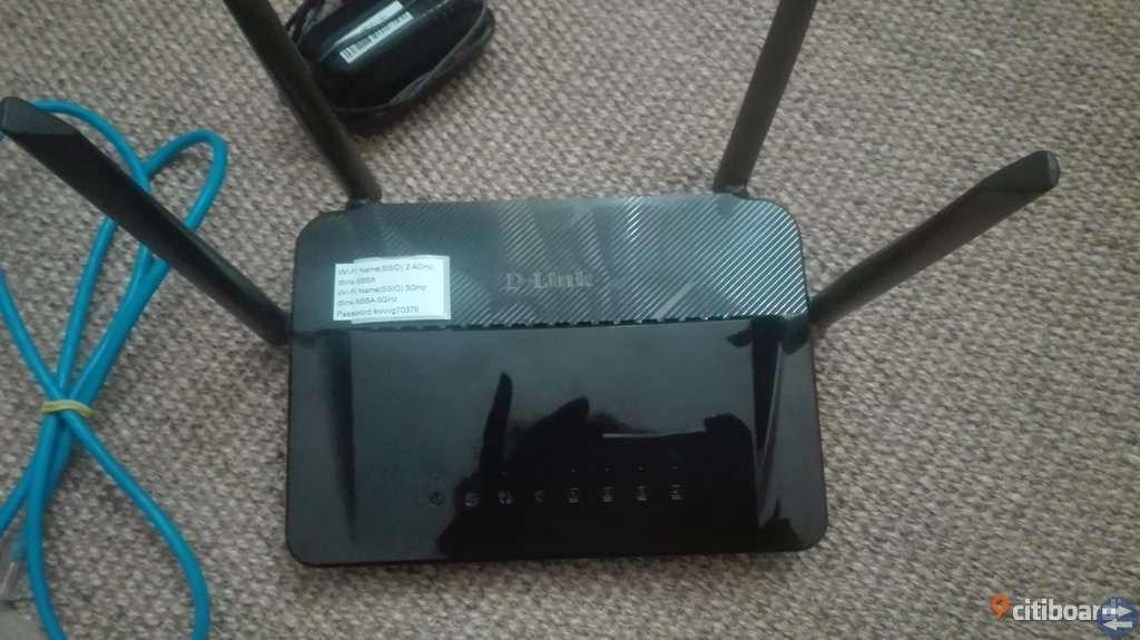 D-Link router säljs