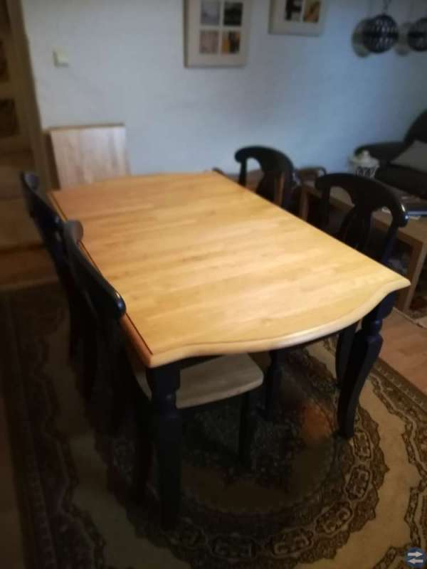 Matbord & 4 stolar