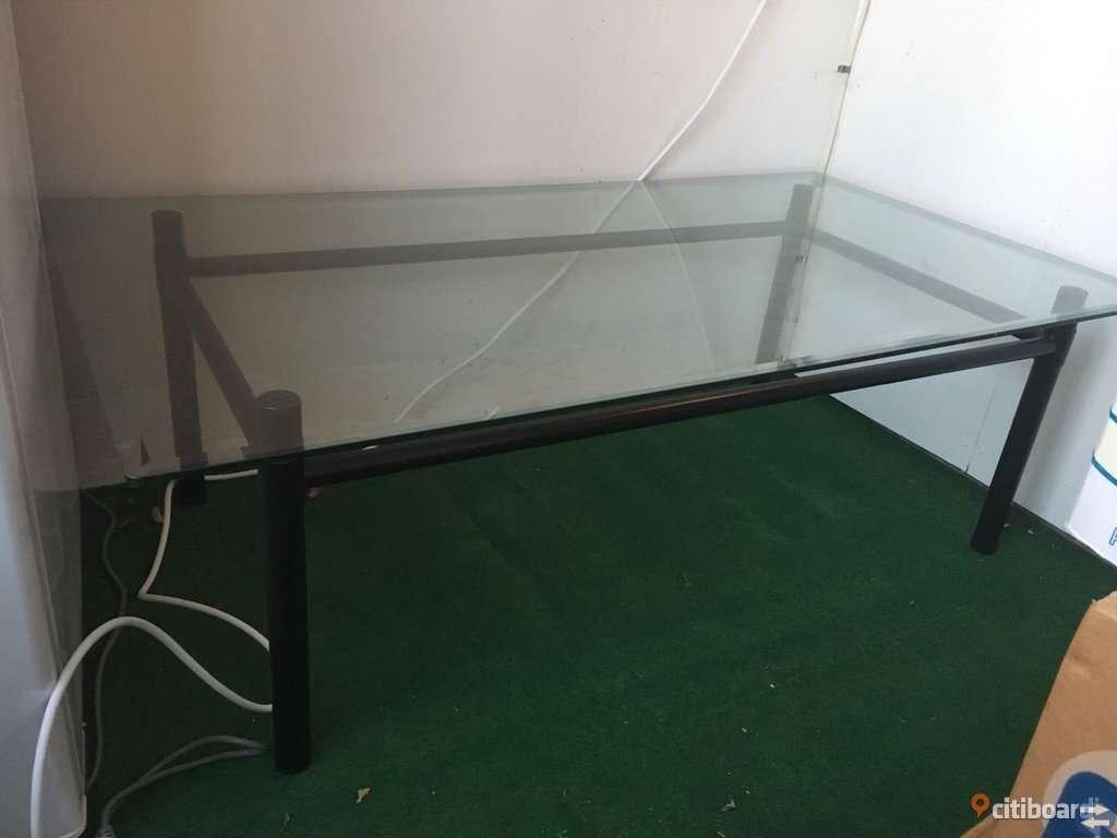 Låg Glasbord