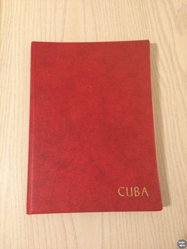 Frimärksalbum Kuba
