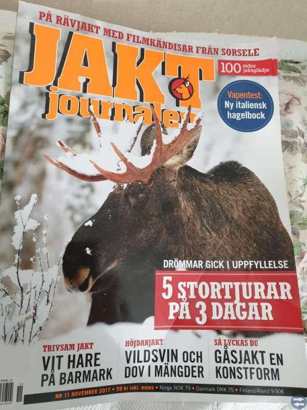 Tidningar Svensk Jakt &Jakt Journalen