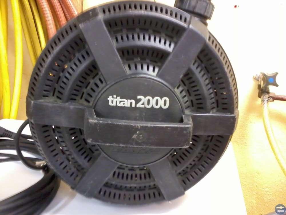 Dammpump + filterhjul