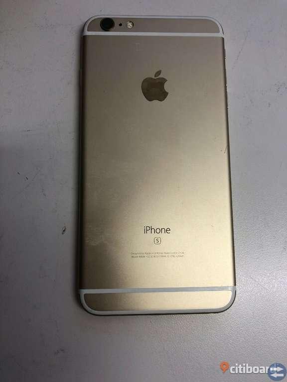 IPhone 6s Plus - 128GB - Gold OLÅST NYSKICK